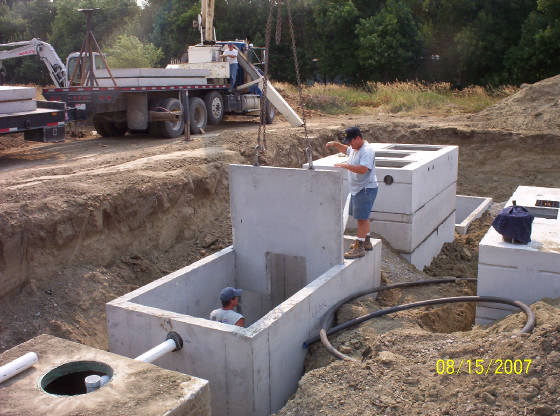 Engineering services design civil engineer billings mt for Pond water treatment systems
